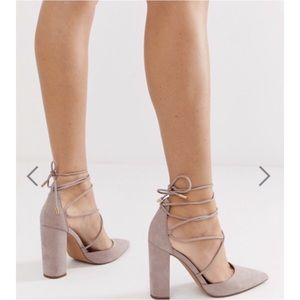 ASOS Power Trip High Block Heels